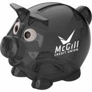 Mini Translucent Piggy Bank