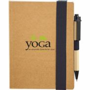 """Eco Perfect Bound Notebook w/ Pen - 5.5"""" x 7"""""""