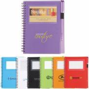The Star Business Card Spiral Notebook