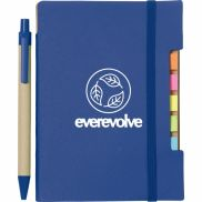 """4"""" x 6"""" Recycled Sticky Notebook with Pen"""