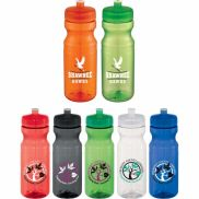 Easy Squeezy Crystal Sports Bottle - 24 oz.