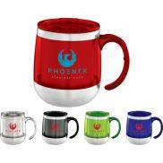 Brew Desk Mug with Lid - 14 oz.
