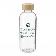 Sona RPET Reusable Bottle w/ FSC Bamboo Lid - 22 oz.