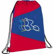 The Pennant Drawstring Cinch Backpack