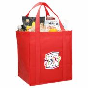 """Hercules Non-Woven Grocery Tote - 14.5"""" H x 13"""" W x 10"""" D"""