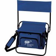 Folding Insulated Cooler Logo Chair