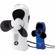 Turbo Mini Promotional Fan / Flashlight