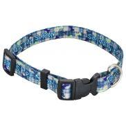 "Full Color 3/4""W Adjustable Pet Collar"