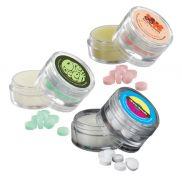 Mints & Lip Moisturizer in Double Stacked Jar