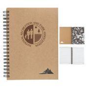 5 x 7 Spiral Stone Paper Notebook