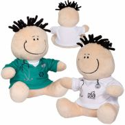 """MopToppers® 7"""" Healthcare Professional Plush"""