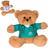 "7"" Heathcare Professional Plush Bear"