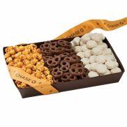 Popcorn, Pretzels, & Cookies Gift Box