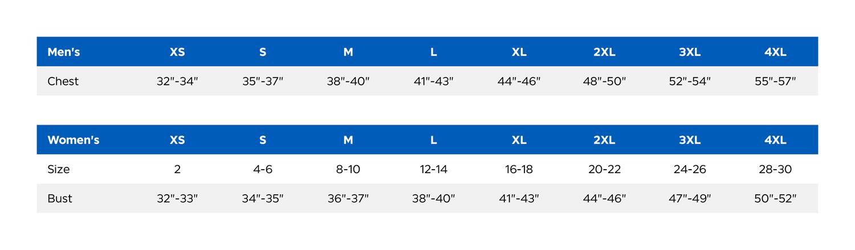 Eddie Bauer Size Chart